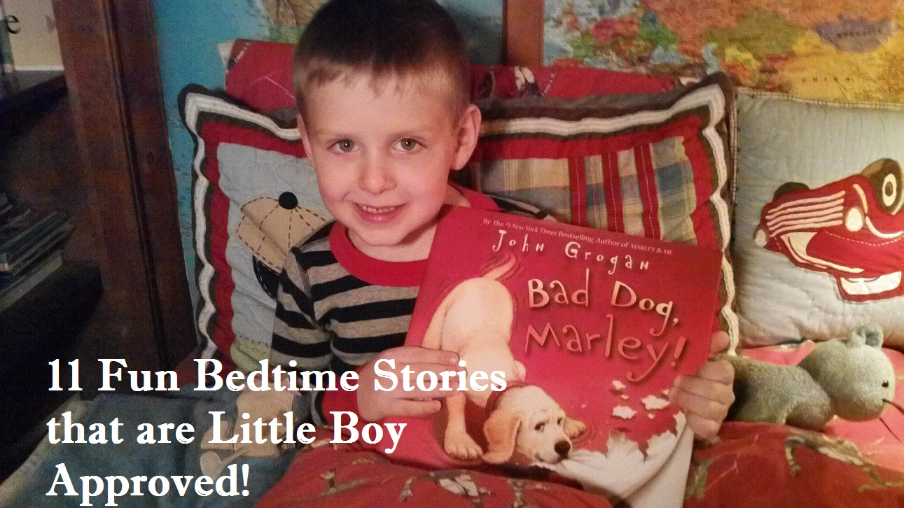 11 Fun Bedtime Stories that are Little Boy Approved – Tina's