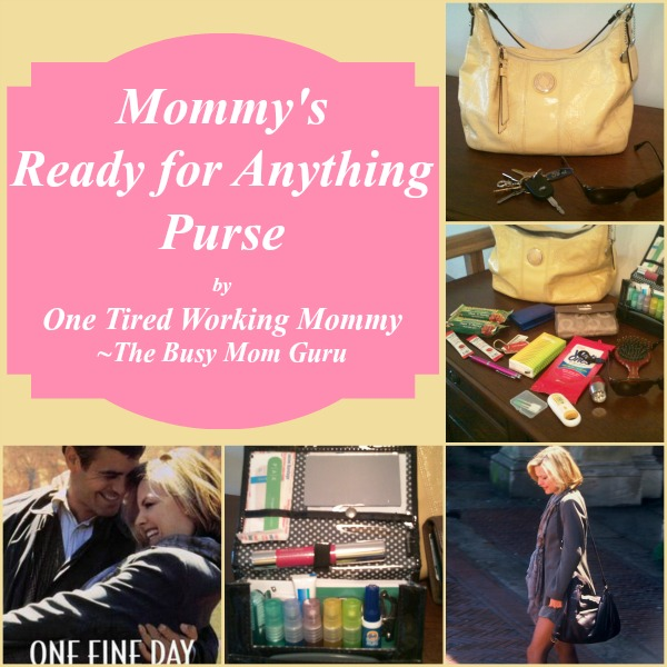 Mommy's Ready for Anything Purse