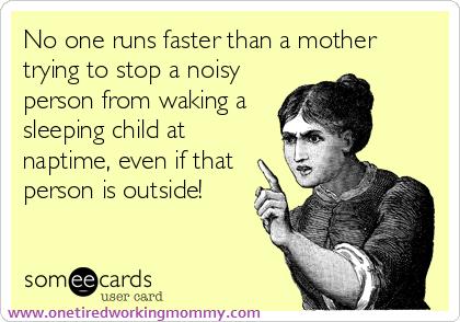 Never Wake a Sleeping Child