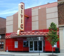 The Farmington Civic second run movie theater.