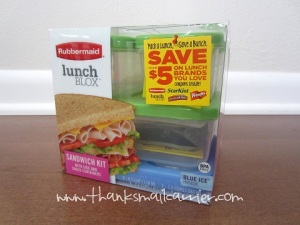 Rubbermaid LunchBlox review