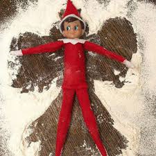 elf in flour