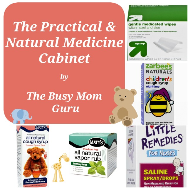 The Practical & Natural Medicine Cabinet