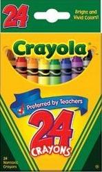 24 Crayons