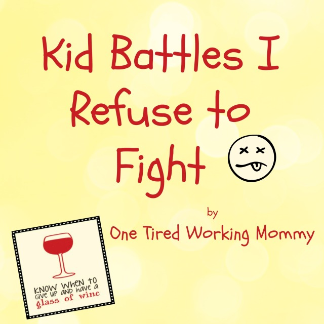 Kid Battles I Refuse to Fight