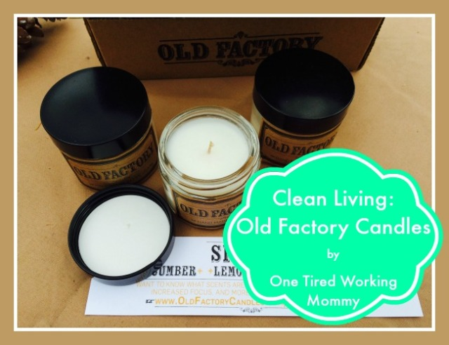 Clean Living Old Factory Candles