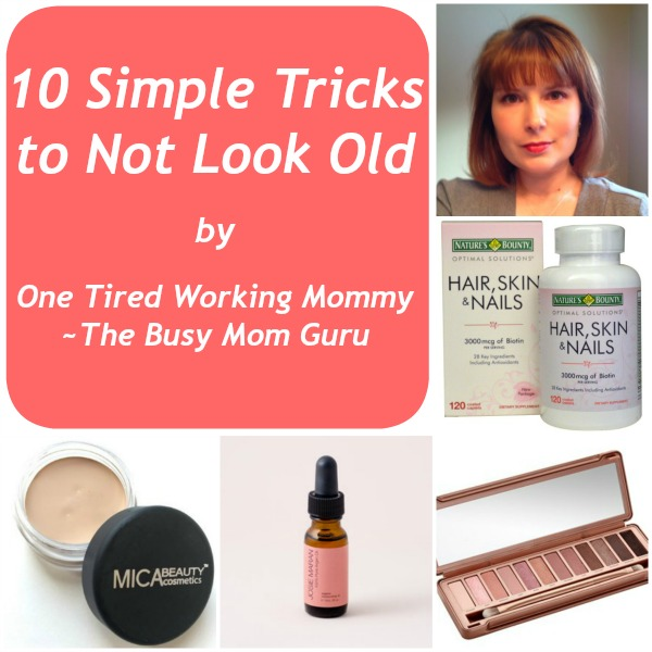 10 Simple Tricks to Not Look Old