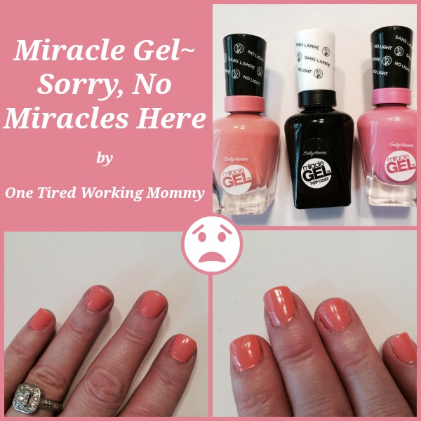Miracle Gel~Sorry, No Miracles Here