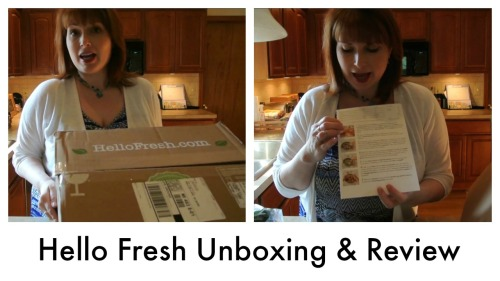 Hello Fresh Unboxing & Review