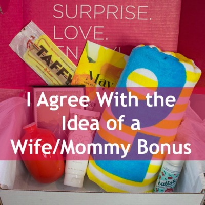 I Agree With the Idea of a WifeMommy Bonus