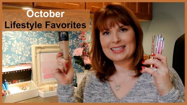 October Lifestyle Favorites