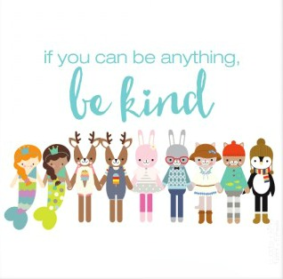 Be-kind-print-framed blog